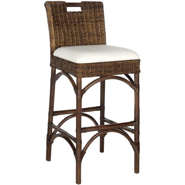 Pleasing Wicker Rattan Bar Stools Inzonedesignstudio Interior Chair Design Inzonedesignstudiocom