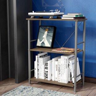 Compare prices Petrucci Etagere Bookcase by Ebern Designs