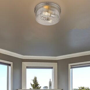 Breakwater Bay Leboeuf 2-Light Flush Mount