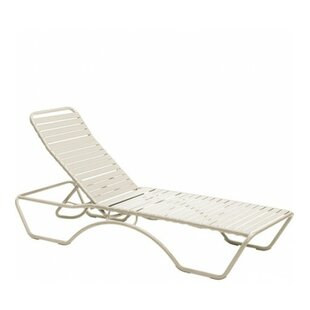 Baja Aluminum Poolside Adjustable Armless Chaise Lounge