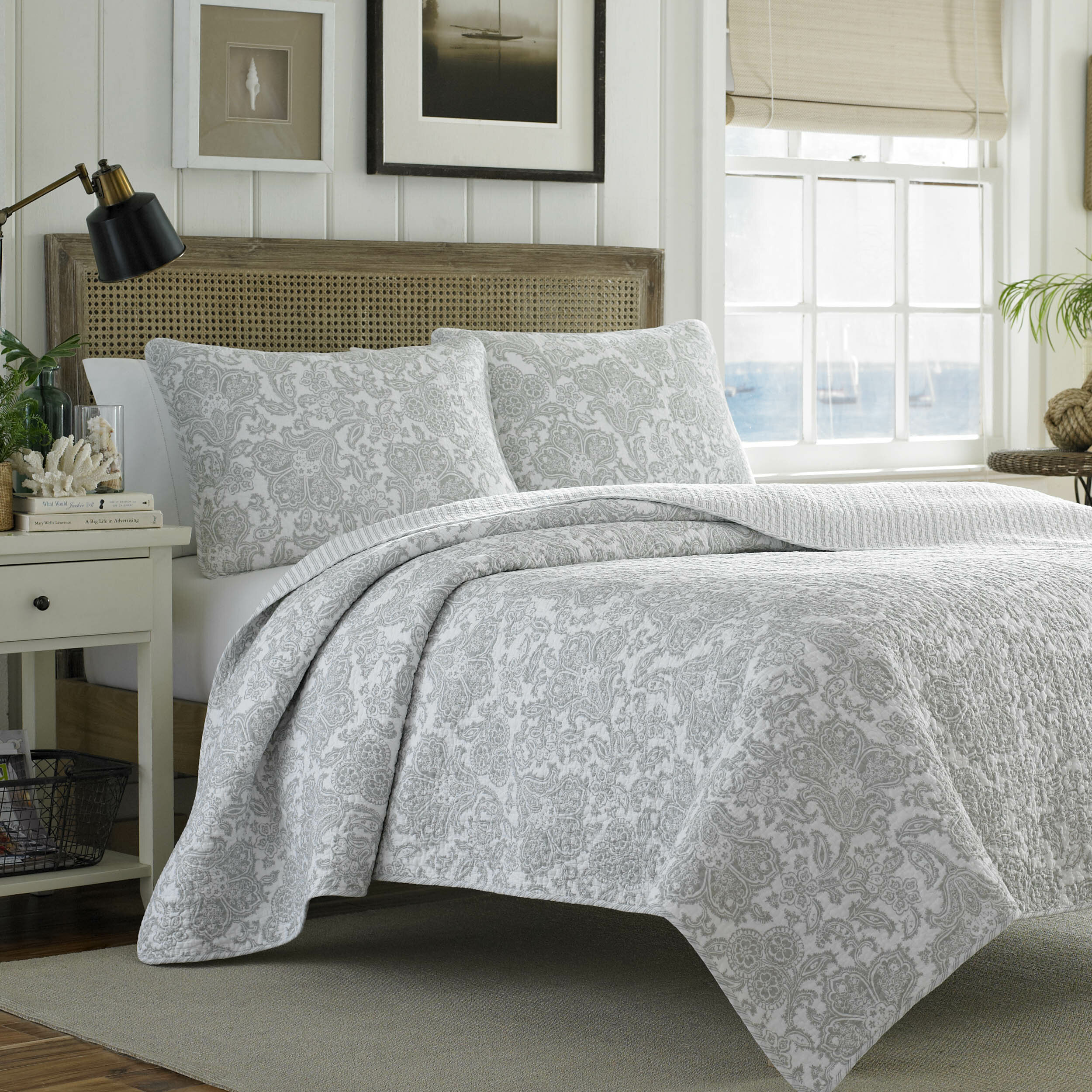Tommy bahama bedding island memory reversible coverlet set for Bahama towel chaise cover