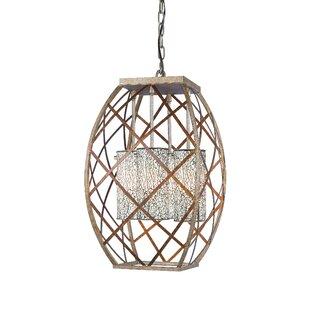 Braid 4-Light Lantern Pendant by Woodbridge Lighting
