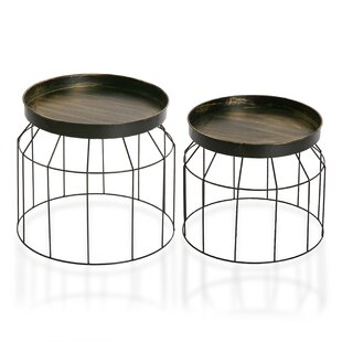Parham 2 Piece Side Table Set By August Grove