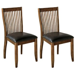 Reviews Bentley Upholstered Dining Chair (Set of 2) by Loon Peak Reviews (2019) & Buyer's Guide