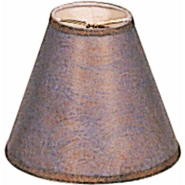 Volume Lighting 5 75 H Metal Empire Lamp Shade Clip On In Prairie Rock Reviews Wayfair