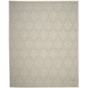 Candor Gray Outdoor Area Rug