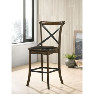 Terrence 2463 Bar Stool Set of 2 by Gracie Oaks