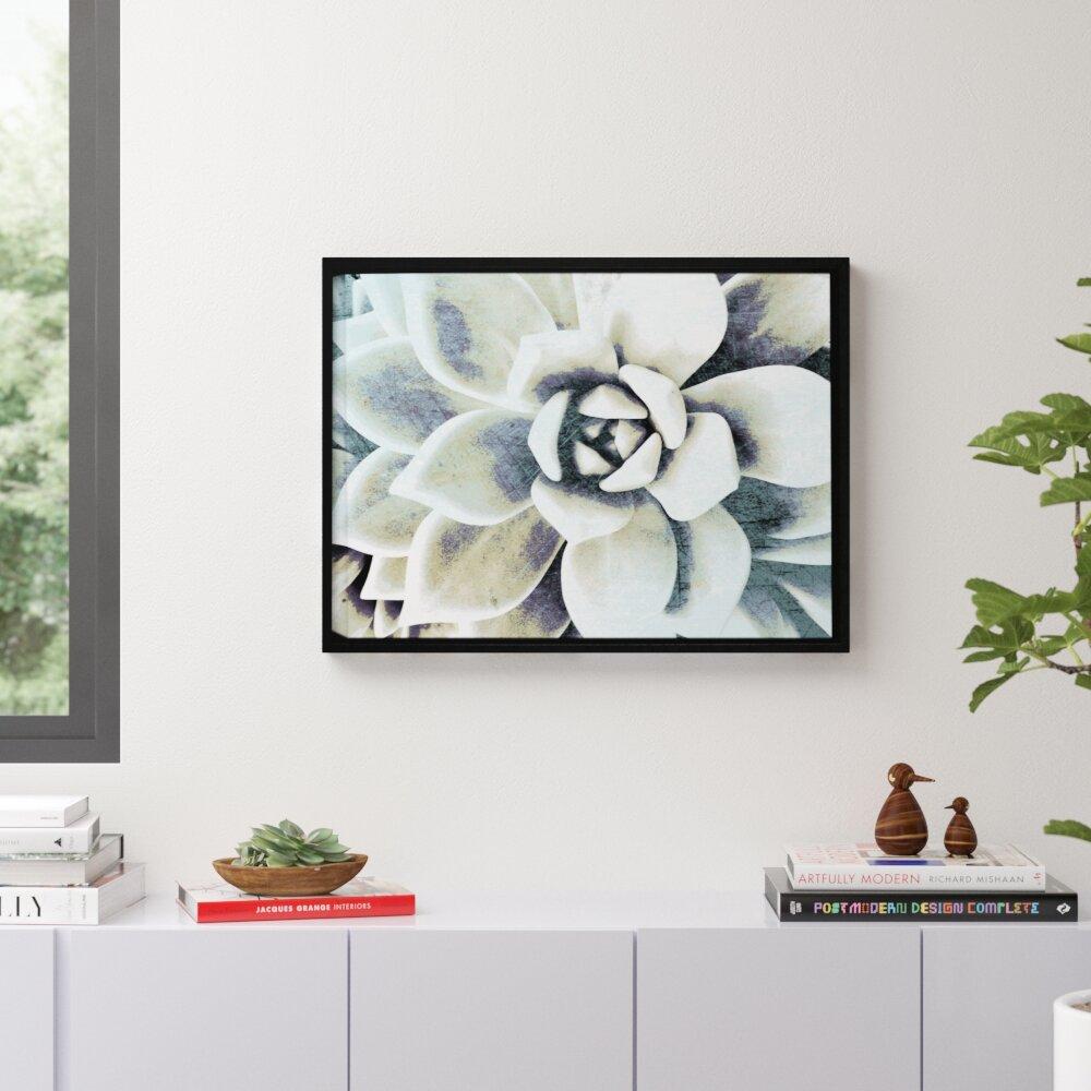 Matt Morgan Antique Bisque Tile Floral