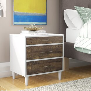 Blum 3 Drawer Nightstand by Trule Teen