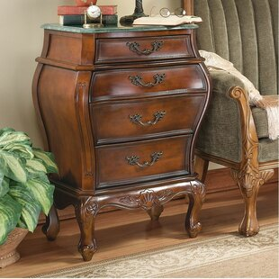 Voltaire Bombe 4 Drawer Chest by Design Toscano