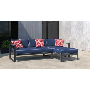 Monterey Patio Sectional with Cushions by Tommy Hilfiger