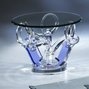 Pulpo Acrylic End Table by Shahrooz