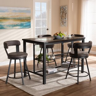 Flint 5 Piece Dining Set
