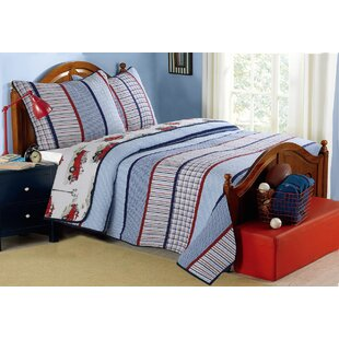 Ansel Reversible Quilt Set