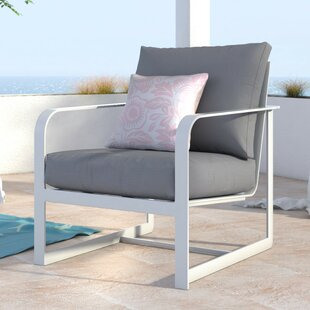Elle Decor Mirabelle Arm Patio Chair with Cushion