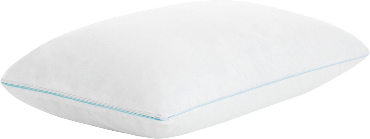 countour pillows elastic memory visco foam cut contour moulded product pillow products shaped trusleep