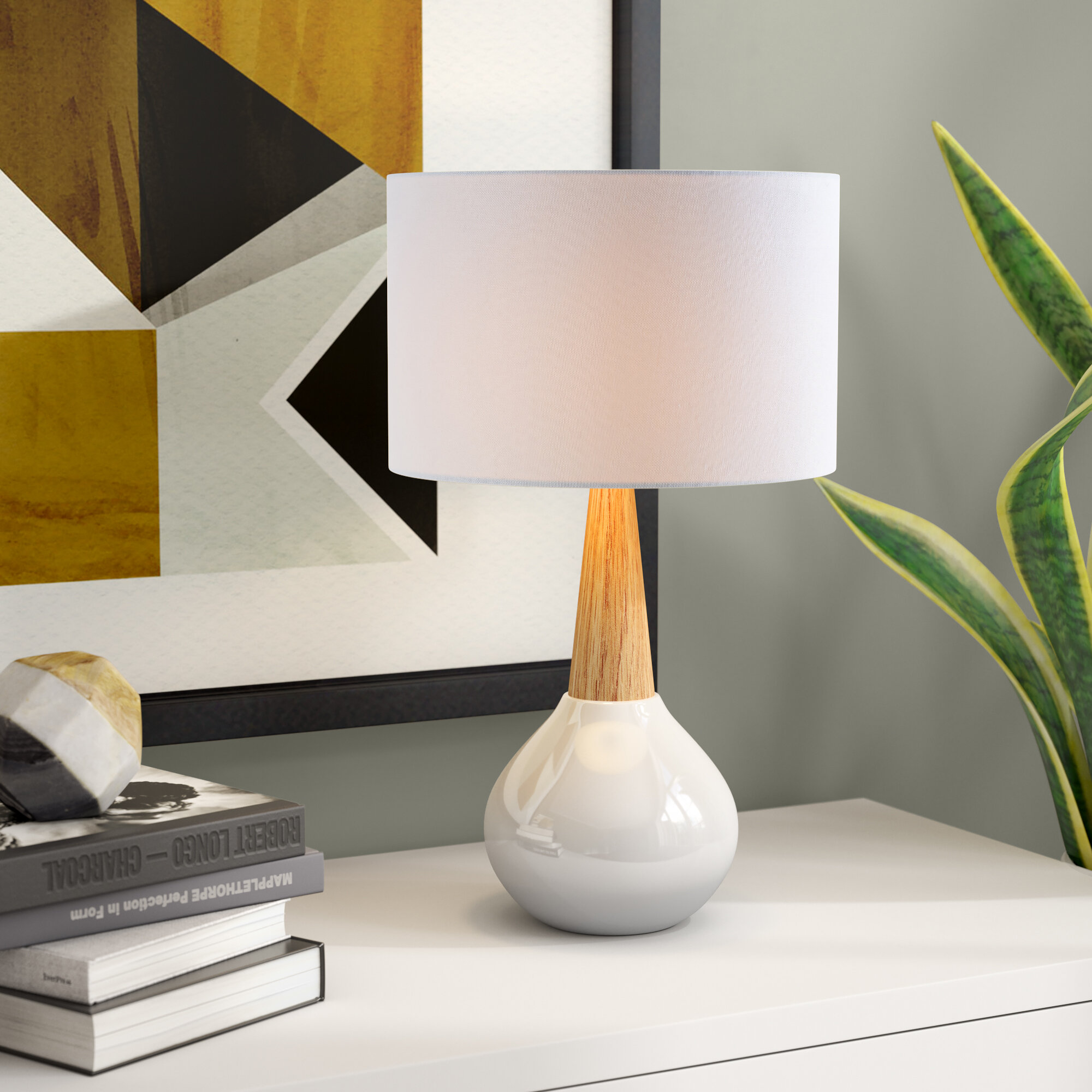 Image of: Mid Century Modern Table Lamps You Ll Love In 2020 Wayfair