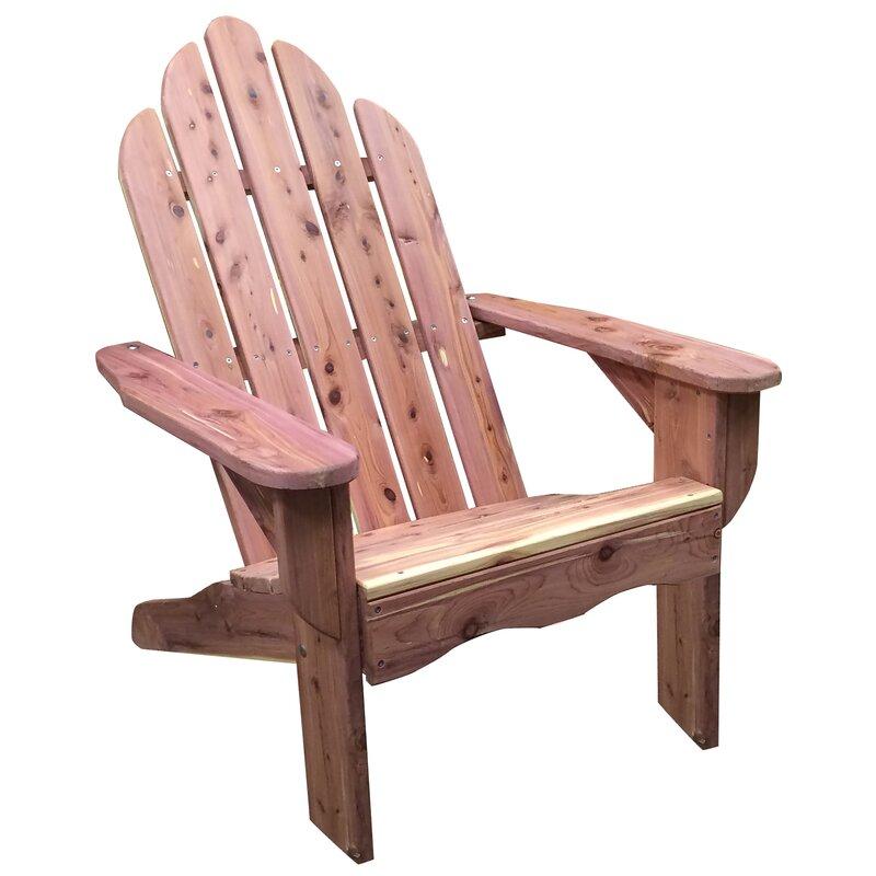 Solid Wood Adirondack Chair