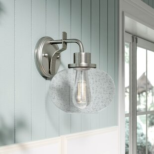 Great Price Braxton 1-Light Armed Sconce By Beachcrest Home