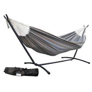 Aura Outdoor Products Sunbrella Hammock with Stand