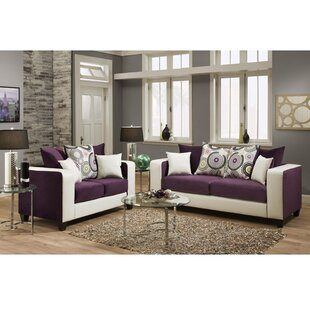 Dilorenzo Modern 2 Piece Solid Wood Living Room Set by Latitude Run
