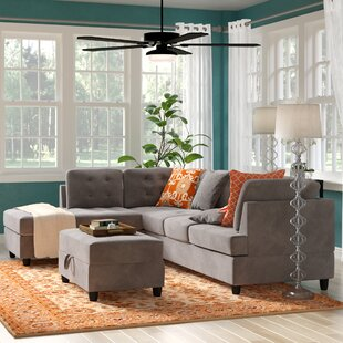 Feagin Sectional with Ottoman