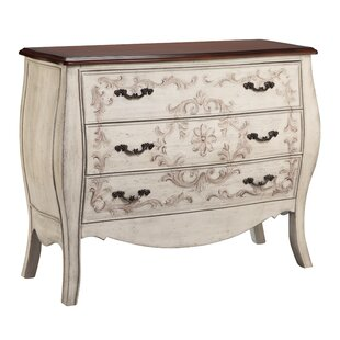 Josephina 3 Drawer Accent Chest by World Menagerie