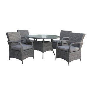 Pratolina 4 Seater Dining Set With Cushions Image