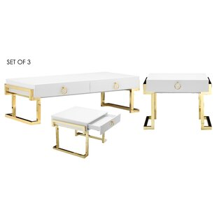 Parkdale 3 Piece Coffee Table Set