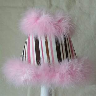 Fab and Fluffy 11 Fabric Empire Lamp Shade