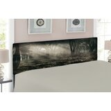 Gothic Upholstered Panel Headboard by East Urban Home