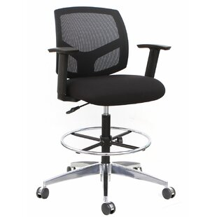Thornton's Office Supplies Forge Mid-Back Mesh Drafting Chair