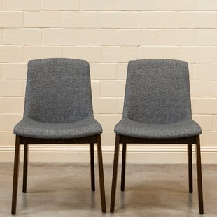 Fultondale Upholstered Dining Chair (Set of 2) George Oliver