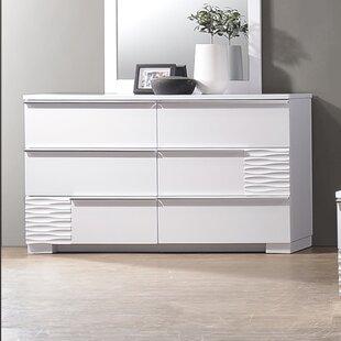 Latitude Run Ellisburg 6 Drawer Double Dresser