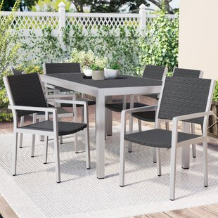 Royalston 7 Piece Aluminum Dining Set