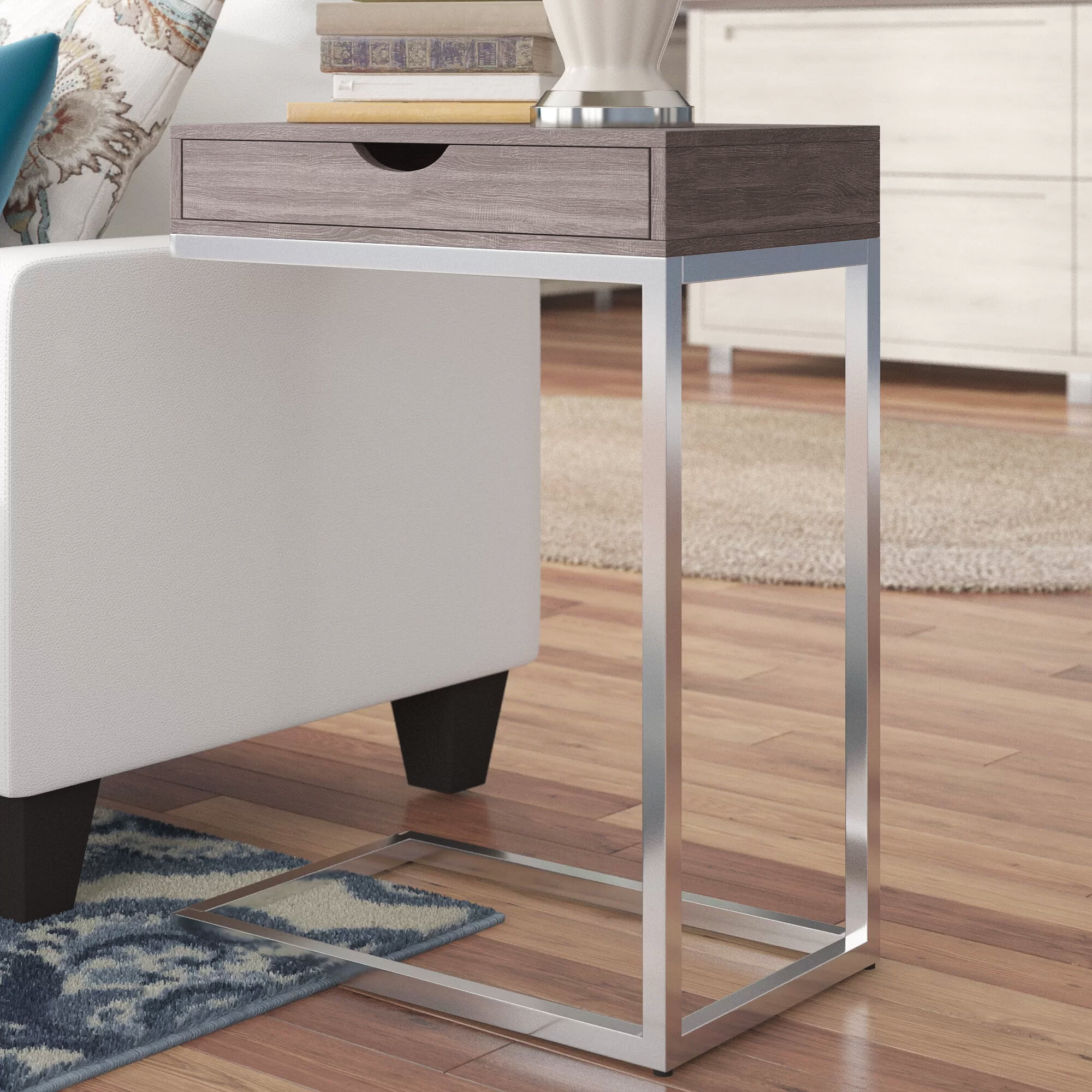 - Orren Ellis Karen End Table With Storage & Reviews Wayfair
