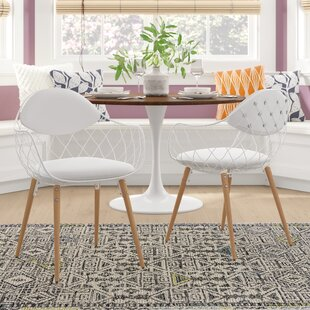 Zaniyah Contemporary Arm Chair (Set of 2) Ivy Bronx