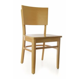 Benkel Seating Chicago Solid Wood Dining Chair (Set of 2)
