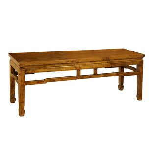 Antique Revival Vintage Southern Wood Bench