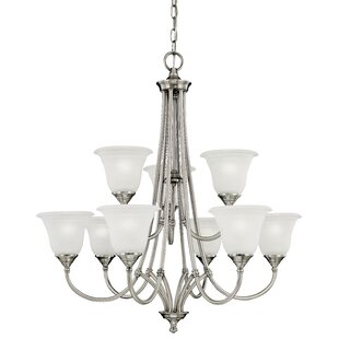 Thomas Lighting Harmony 9-Light Shaded Chandelier