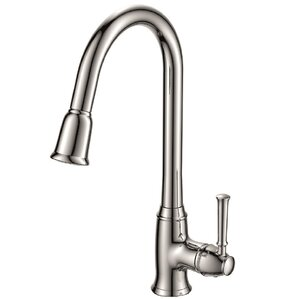 Spring Faucet Single Handle Pull Down Bar Faucet with Deckplate