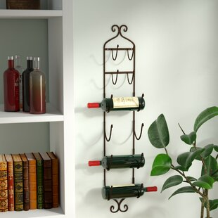 Vallauris 6 Bottle Wall Mounted Wine Rack..