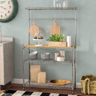 Medrano Baker's Rack by Rebrilliant
