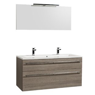 Gammill 1200mm Wall Hung Double Vanity Unit By Ebern Designs