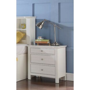 Alizeh 3 Drawer Nightstand by Alcott Hill