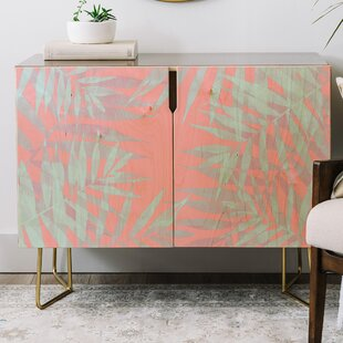 Emanuela Carratoni Tropicana Credenza by East Urban Home