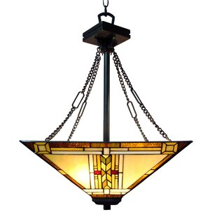 Astoria Grand Hackmore 3-Light Bowl Pendant