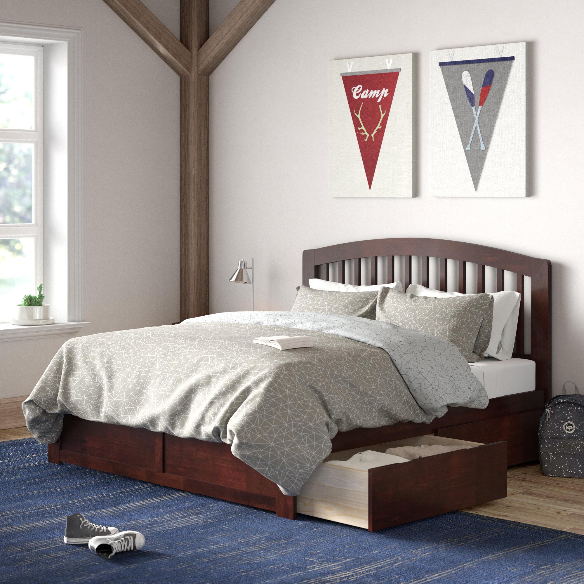 Harriet Bee Bharmal King Storage Platform Bed Reviews Wayfair