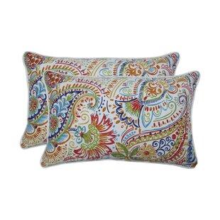 Cervin Indoor/Outdoor Lumbar Pillow (Set of 2)