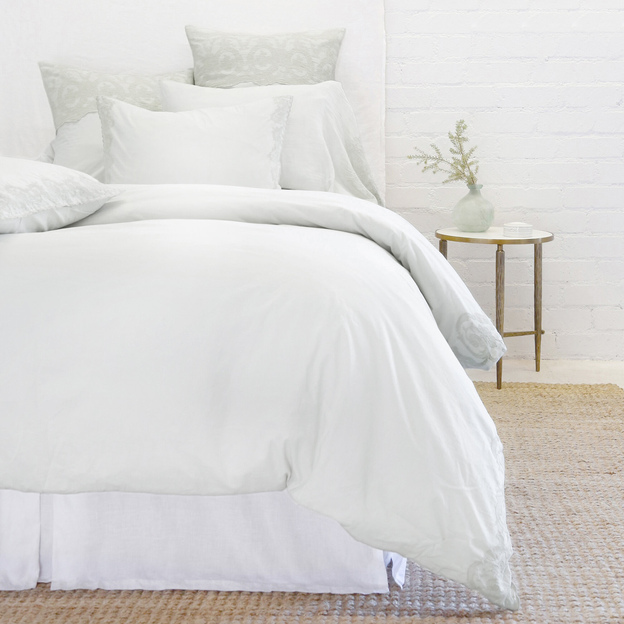Pom Pom At Home Grace Cotton Duvet Cover Perigold